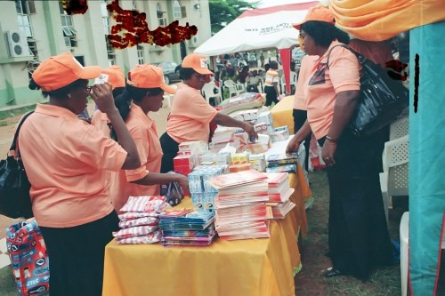 Educational materials to be distributed to the children