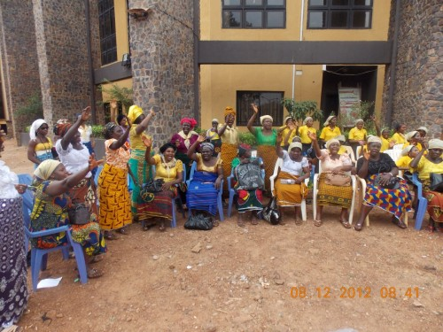 Widows expressed satisfaction and praised God for bina foundation